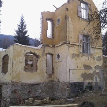 Mauertrockenlegung Porsche Villa